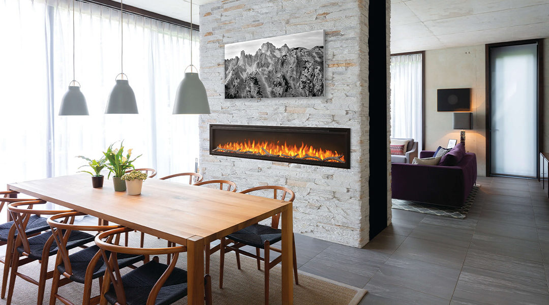 Three Ways to Transform a Small Space with an Electric Fireplace