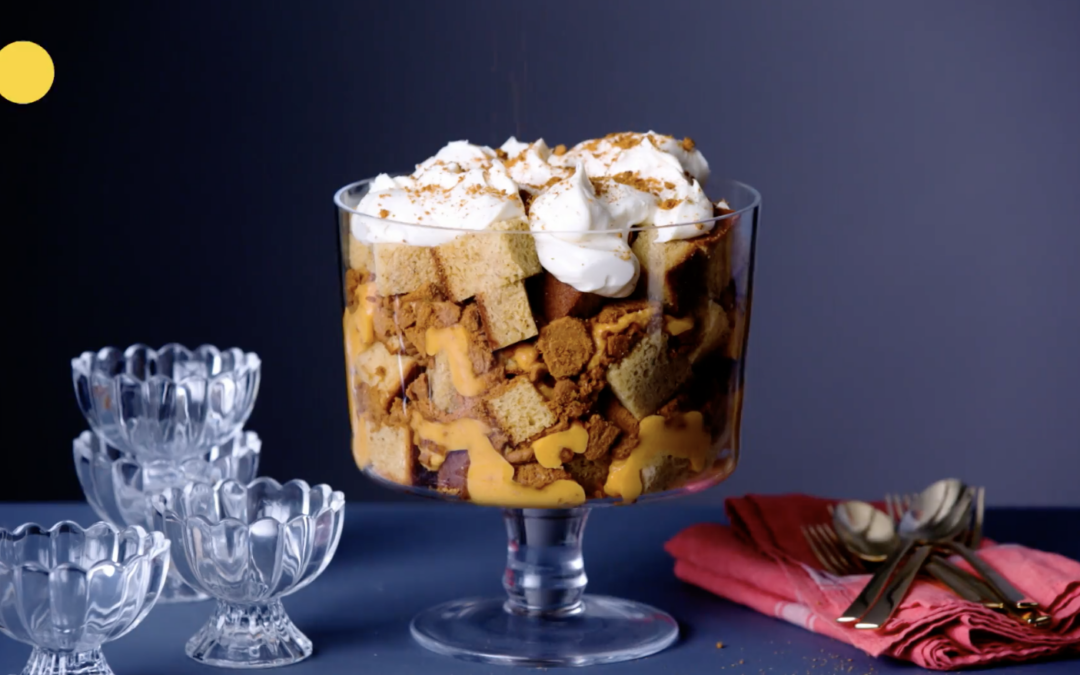 Recipe – Pumpkin Spice Trifle