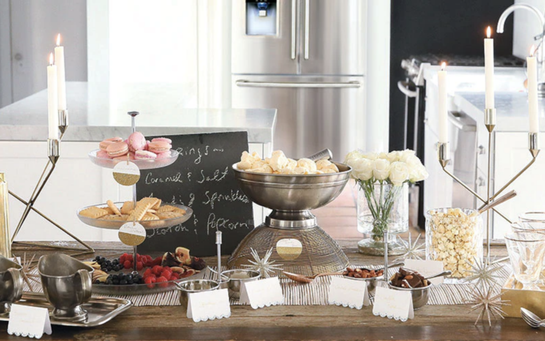 How to Host an Ice Cream Topping Bar
